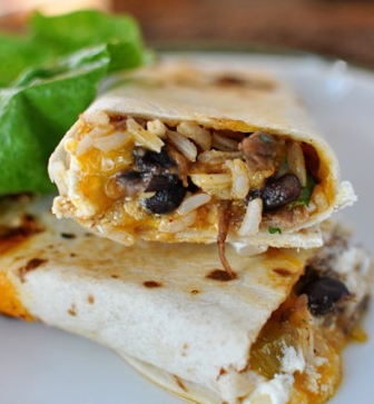 southwest chicken wraps