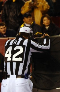 Instant replay has been a big part of overturned calls in both college and professional football