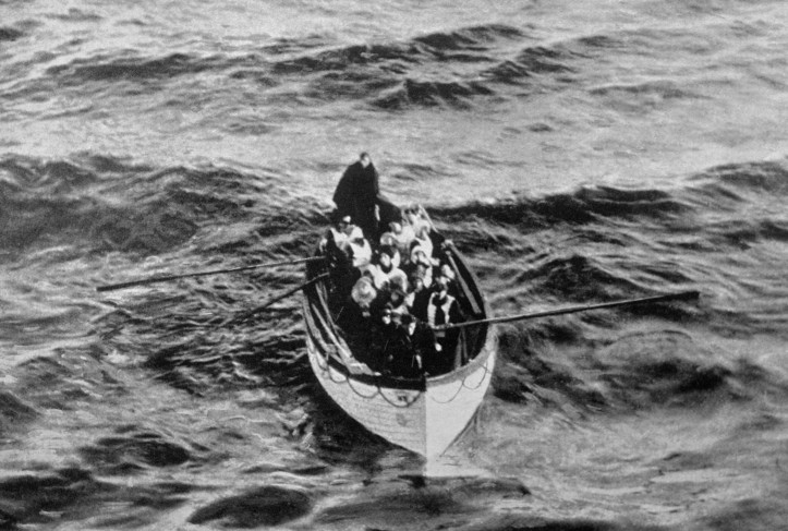 Survivors in Lifeboat