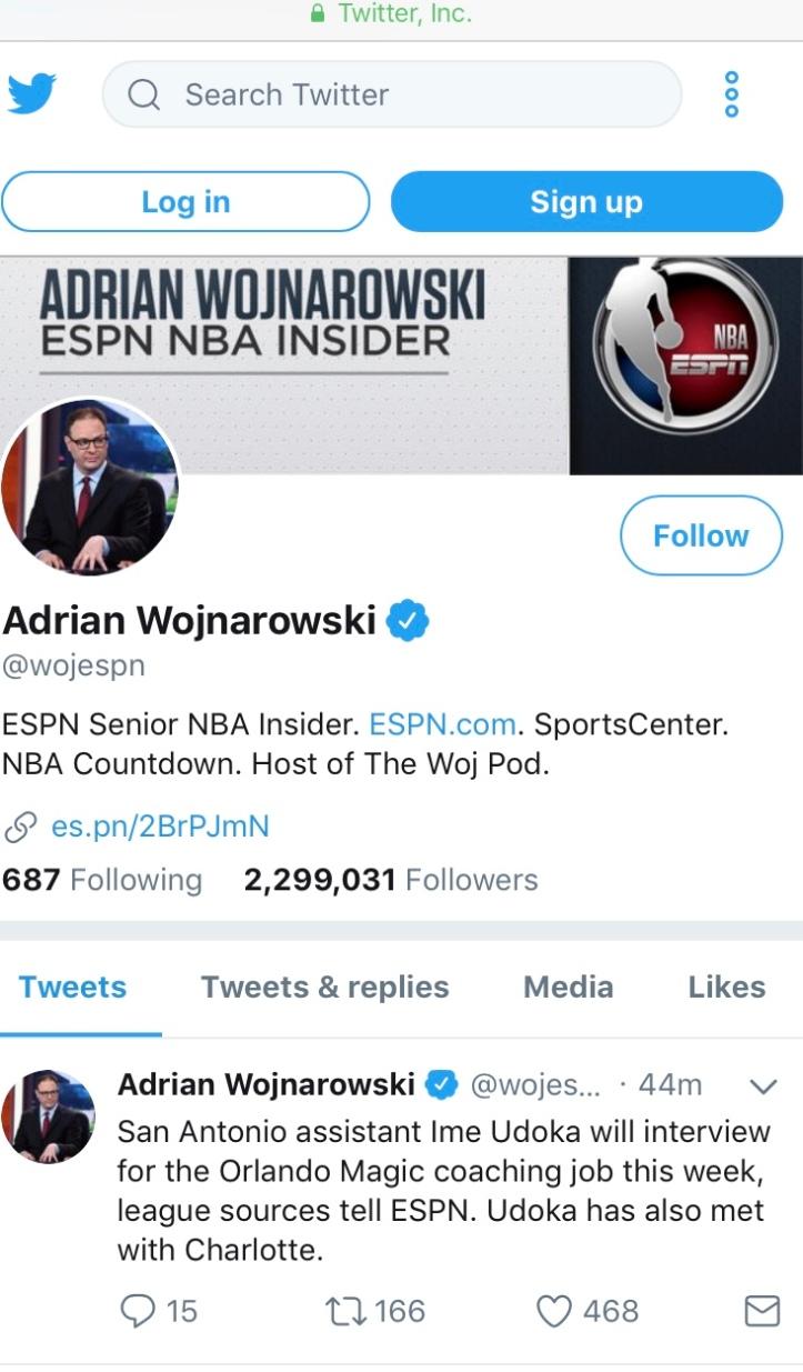 Adopt a Multimedia Journalist: Adrian Wojnarowski – Intro to